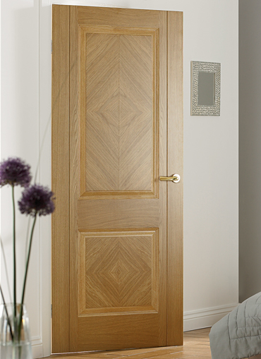 Madrid oak pre finished internal door for Designer interior doors uk