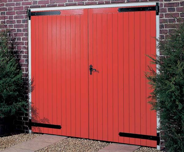 Softwood Garage Doors