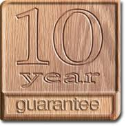 Doors with 10 year guarantee