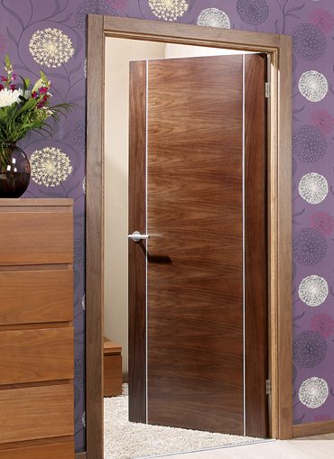 Alcaraz Walnut Pre-Finished Internal Door