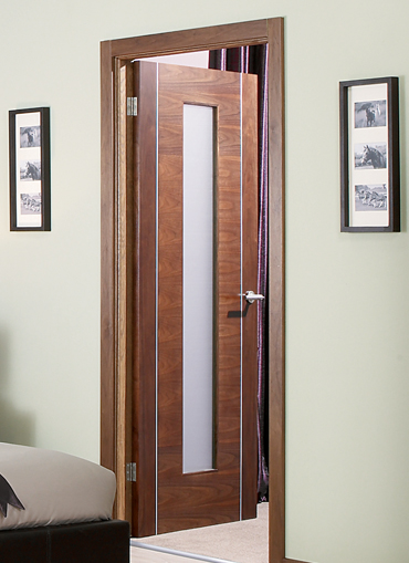 Pre Finished Interior Doors Walnut Interior Doors Hardwood