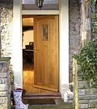 Chesham Cottage Oak External door