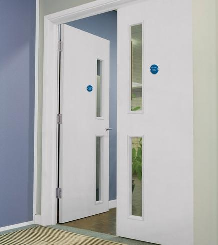 Commercial Glazed FD30 Firedoor 16G G09