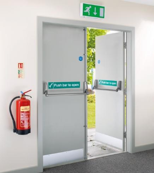 External Fire door FD60 54mm