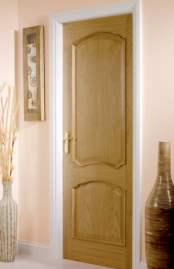 Louis Oak Bolection Mouldings Interior Door